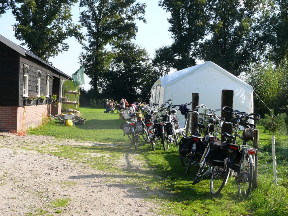 Camping deelname Drentse fiets4daagse