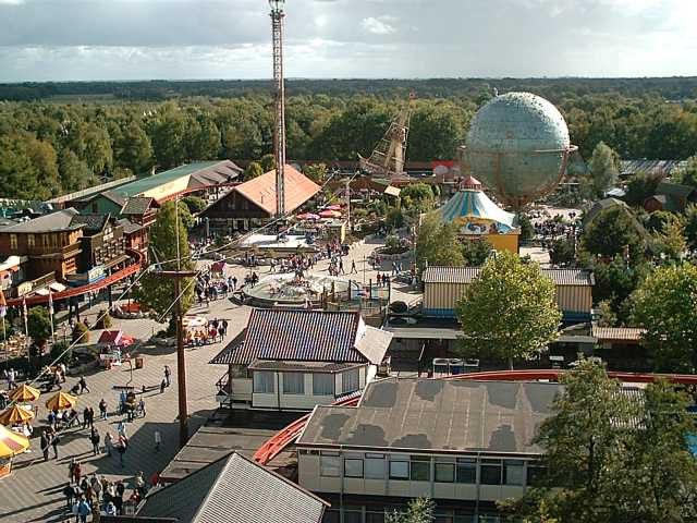 Camping bij Slagharen attractiepark