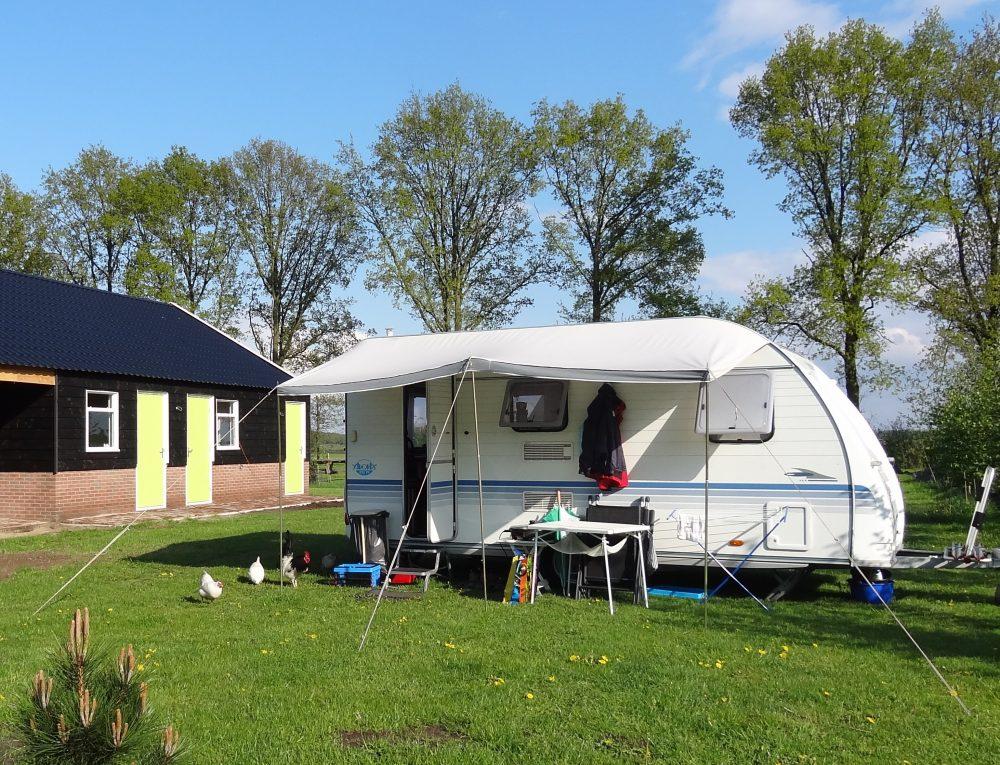 Minicamping met uitzicht en ruime plekken Vechtdal