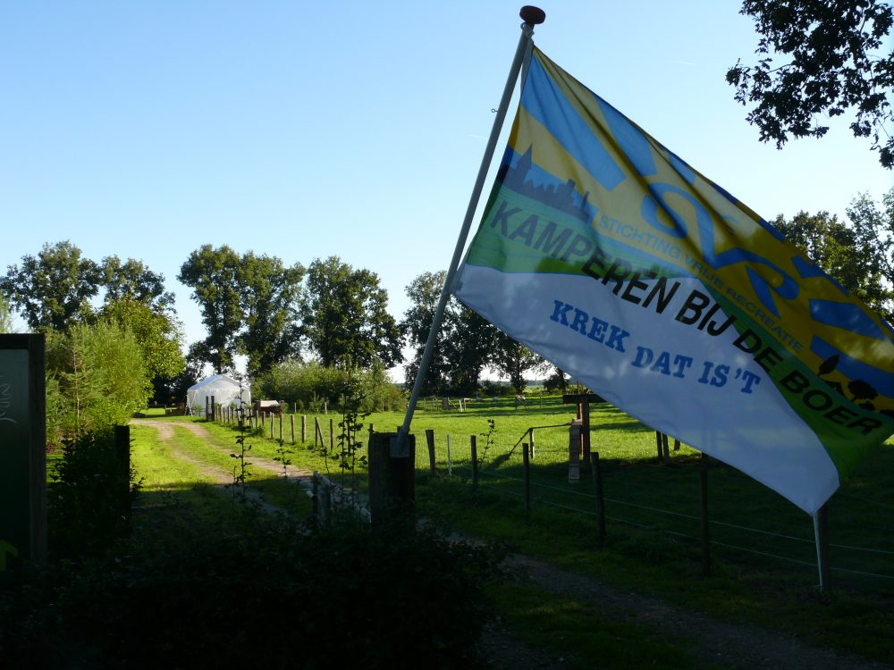 Kamperen bij de boer in Gramsbergen