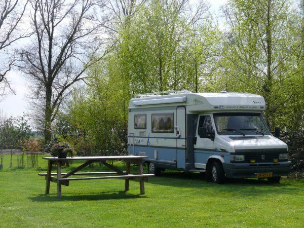 Minicamping met camperplaatsen Overijssel