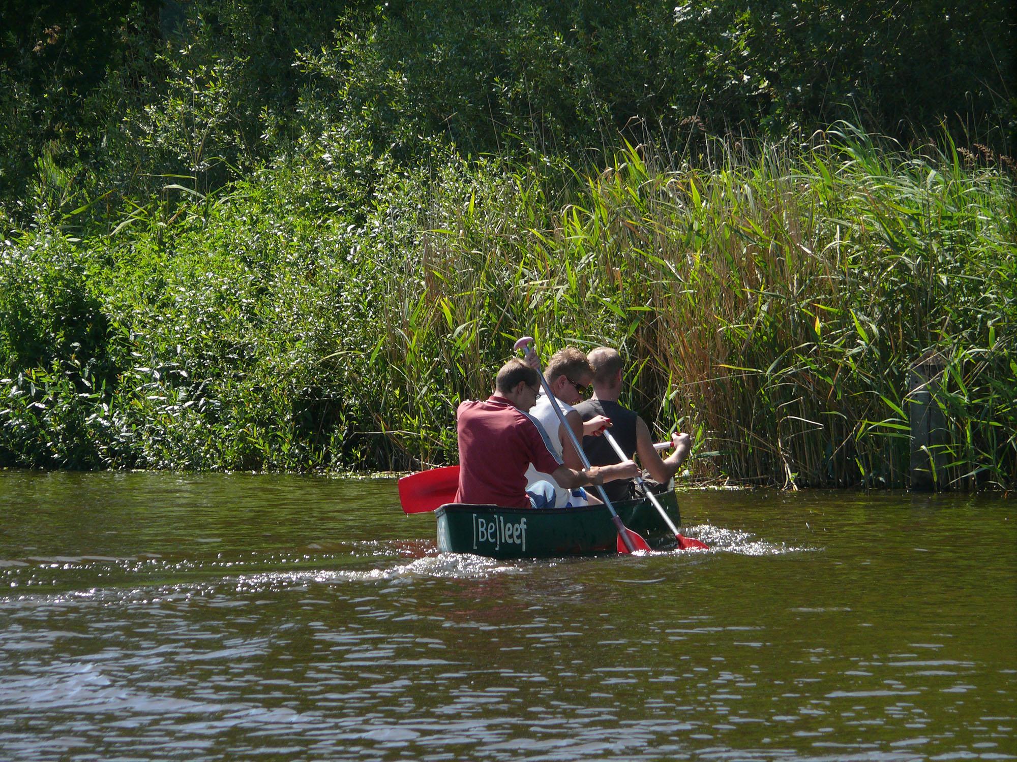 Minicamping kanoverhuur Overijsselse Vecht